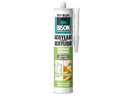 Bison mastic acrylique universel 310ml blanc