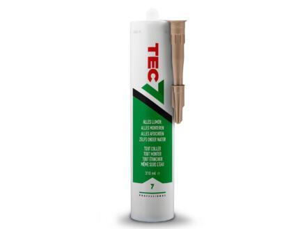 Tec7 mastic-colle 310ml chêne