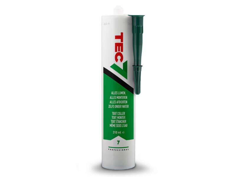 Tec7 mastic-colle 310ml vert