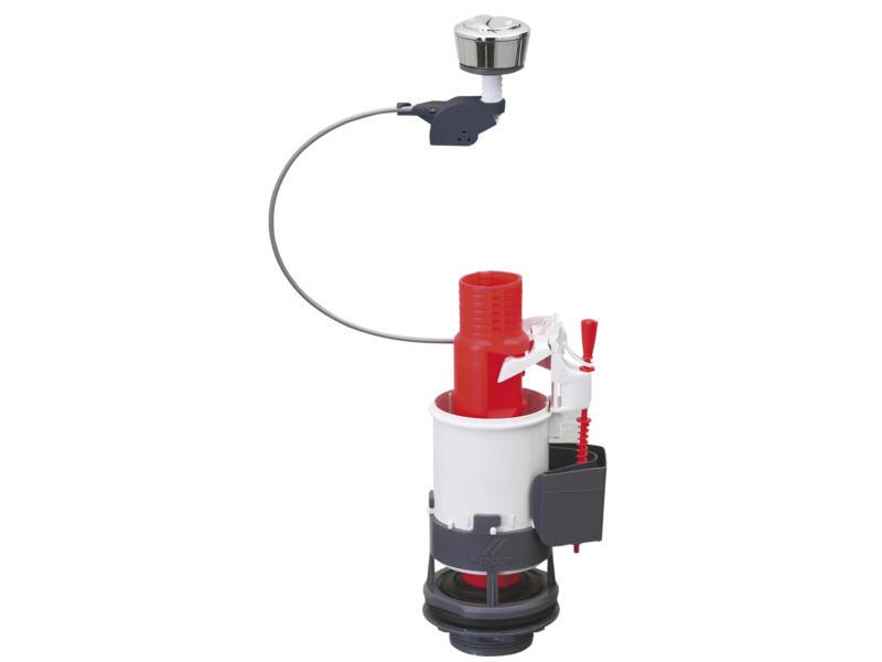 Wirquin mécanisme WC économiseur d'eau à bouton poussoir double
