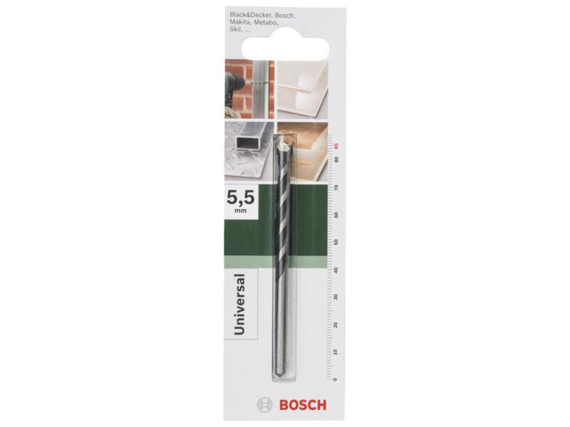 Bosch mèche universelle 5,5x85 mm