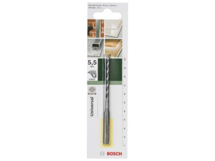 Bosch mèche universelle SDS-quick 5,5mm