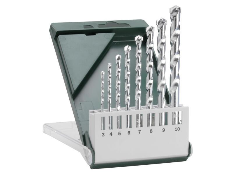 Bosch mèches à pierre 3-10 mm set de 8