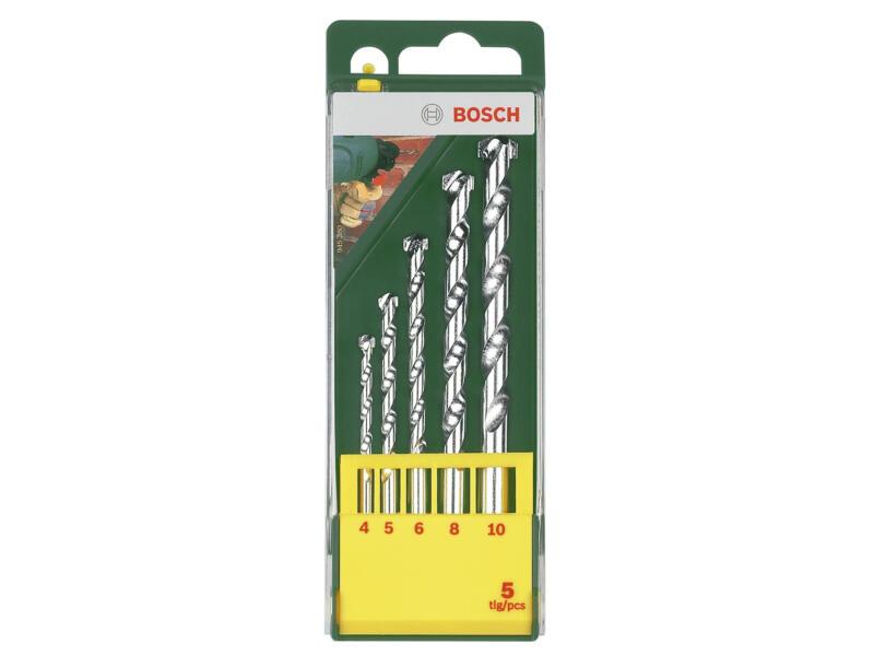 Bosch mèches à pierre HM 4-10 mm set de 5