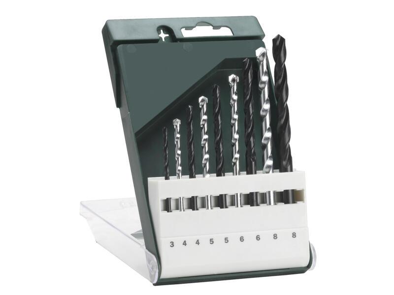 Bosch mèches universelles 3-8 mm set de 9