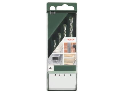 Bosch mèches universelles 4-8 mm set de 4