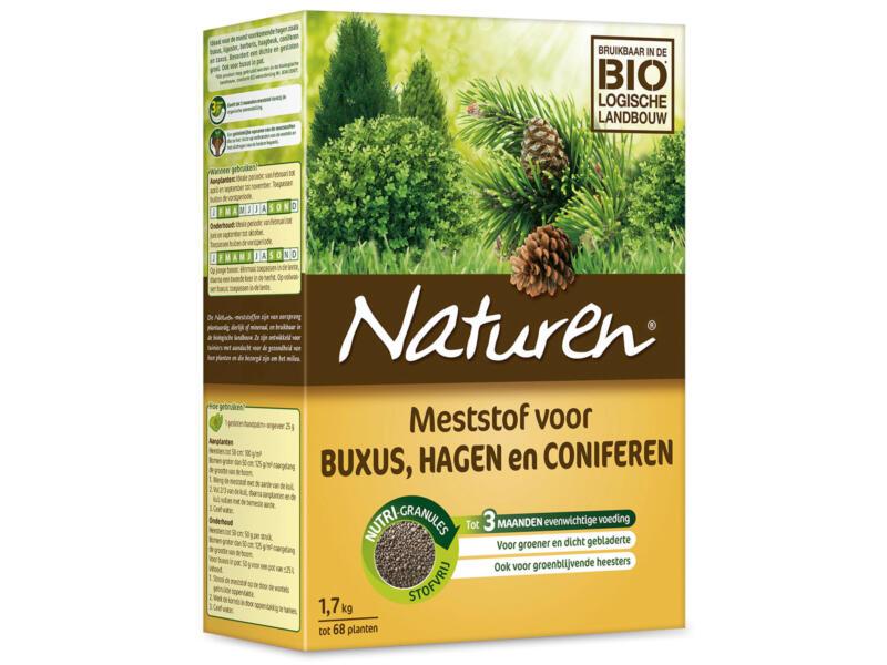 Naturen meststof voor buxus, hagen en coniferen 1,7kg
