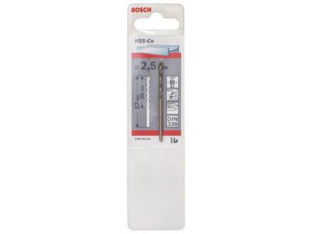 Bosch Professional metaalboor HSS-Co 2,5mm
