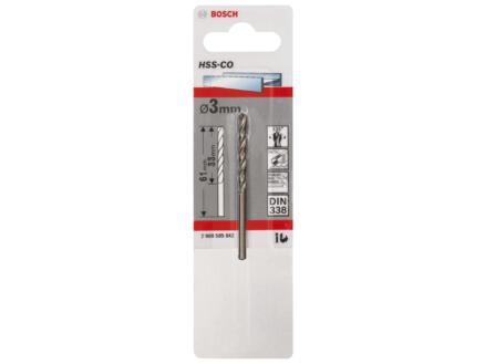 Bosch Professional metaalboor HSS-Co 3mm
