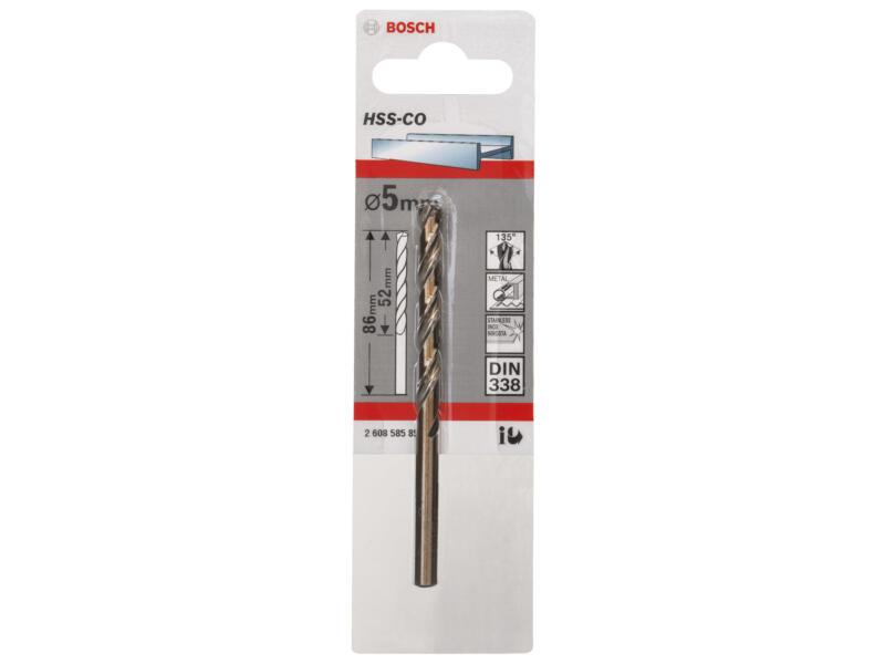 Bosch Professional metaalboor HSS-Co 5mm