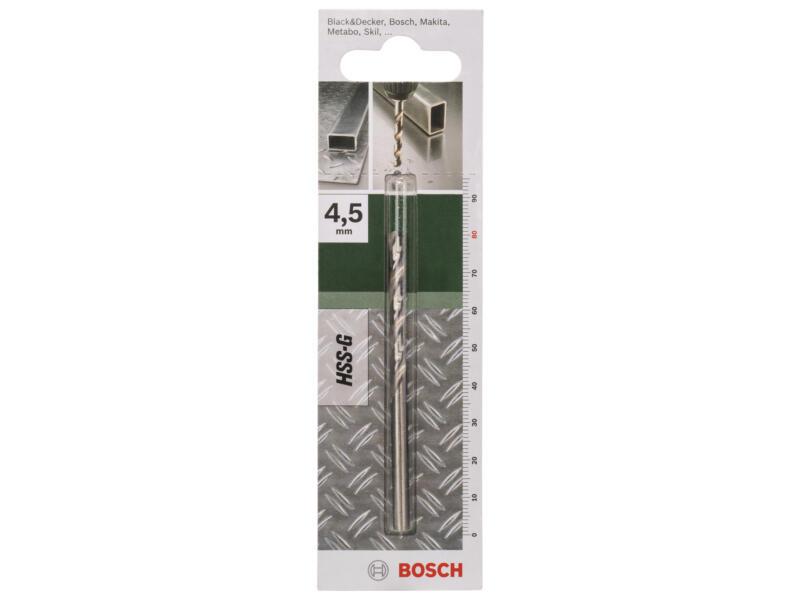 Bosch metaalboor HSS-G 4,5mm
