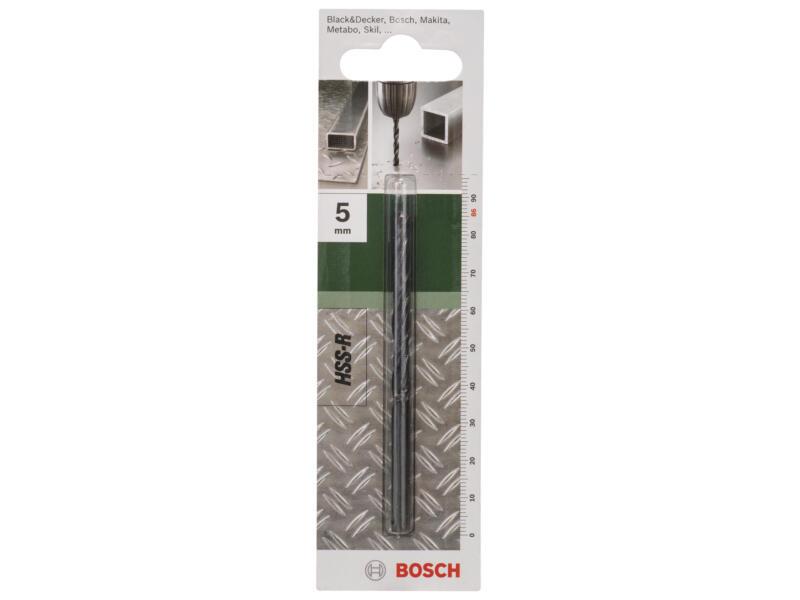 Bosch metaalboor HSS-R 5mm