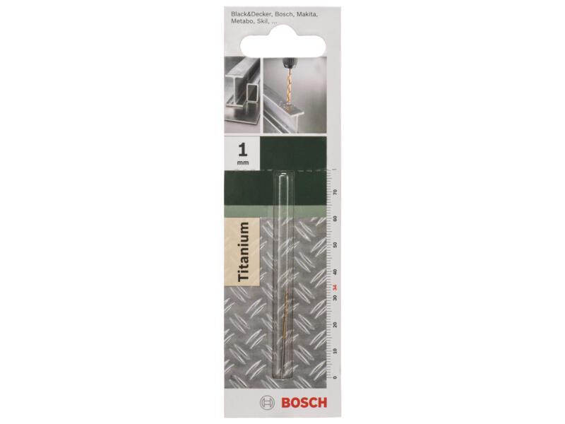Bosch metaalboor HSS-TiN 1mm