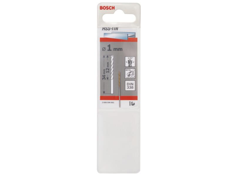 Bosch Professional metaalboor HSS-TiN 1mm