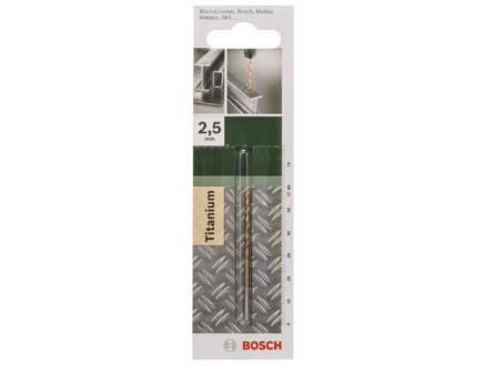 Bosch metaalboor HSS-TiN 2,5mm