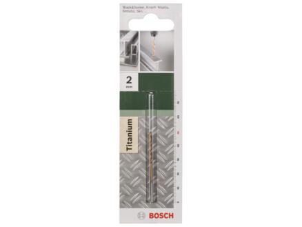 Bosch metaalboor HSS-TiN 2mm