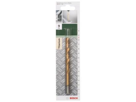 Bosch metaalboor HSS-TiN 9mm