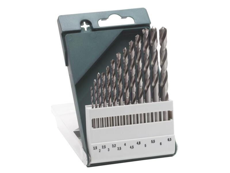 Bosch metaalborenset HSS-G 1,5-6,5 mm 13-delig