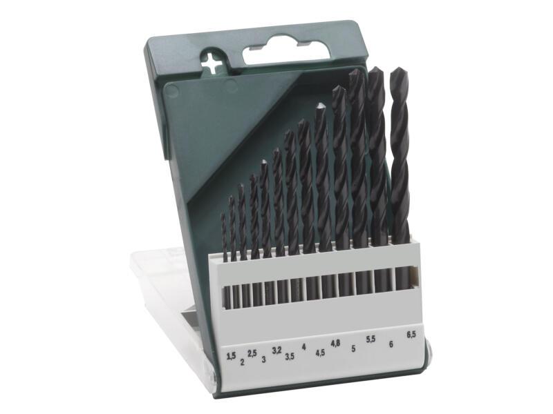 Bosch metaalborenset HSS-R 1,5-6,5 mm 13-delig