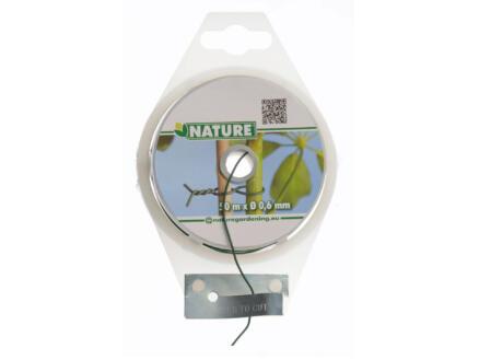 Nature metaaldraad 50m 1,2mm groen