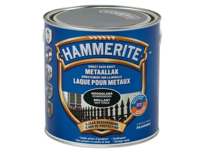 Hammerite metaallak hoogglans 2,5l donkergroen