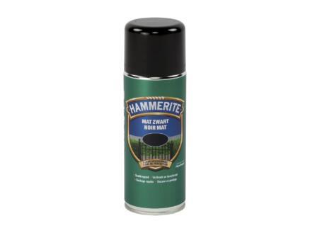 Hammerite metaallak spray mat 0,4l zwart