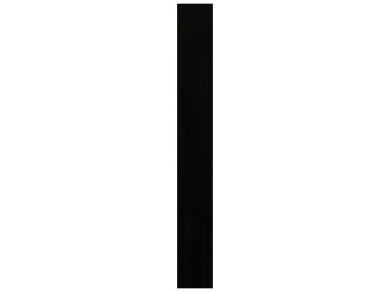 CanDo meubelpaneel 250x30 cm 18mm zwart parelstructuur