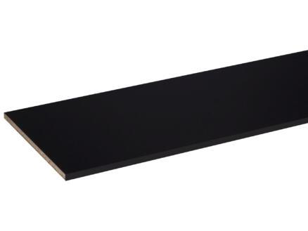 CanDo meubelpaneel 250x40 cm 18mm zwart parelstructuur
