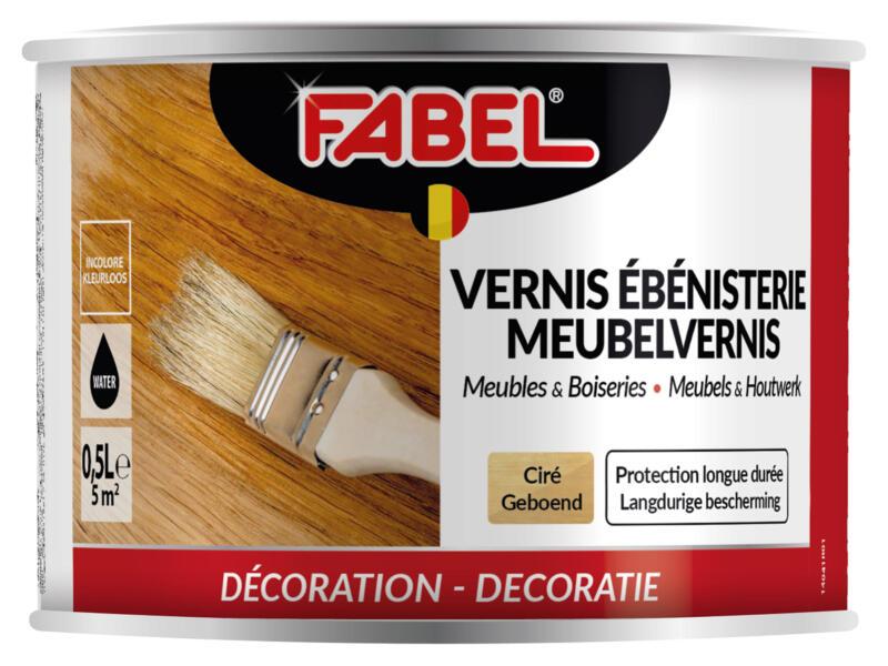 Fabel meubelvernis meubels & houtwerk geboend 0,5l kleurloos