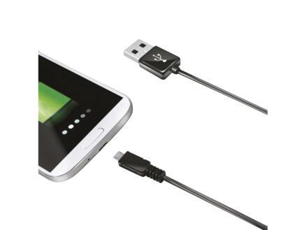 Celly micro-USB kabel 1m zwart