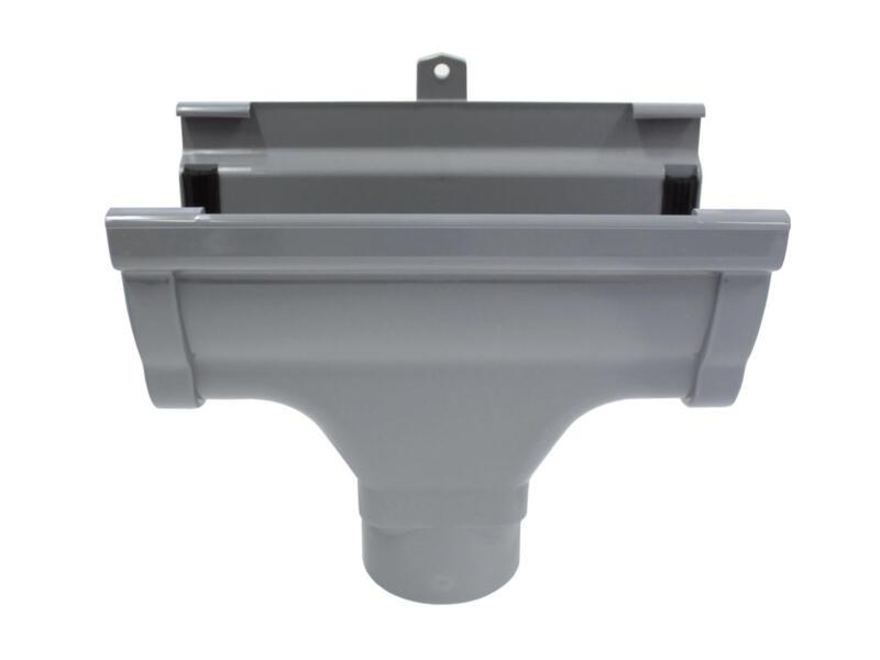 Scala middenspruitstuk voor dakgoot C140 PVC donkergrijs