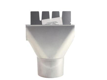 Scala middenspruitstuk voor dakgoot G125 galva grijs