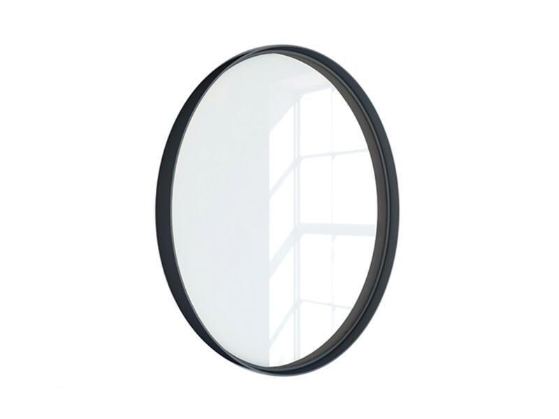 miroir 60cm noir mat