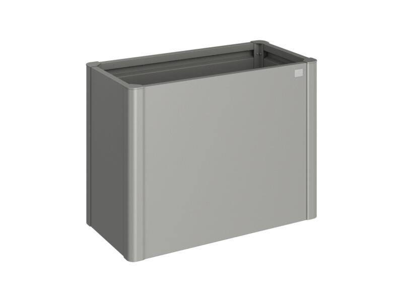 Biohort moestuinbak 53x102 cm kwartsgrijs metallic