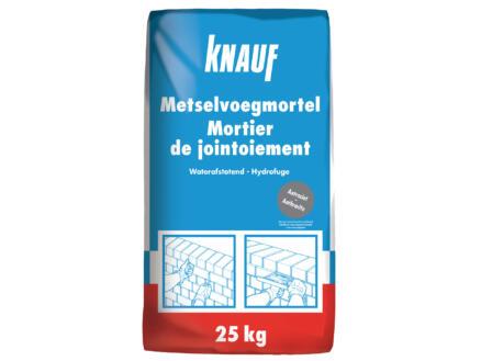 Knauf mortier de jointoiement 25kg anthracite
