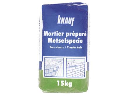 Knauf mortier préparé 15kg