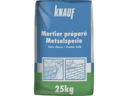 Knauf mortier préparé 25kg