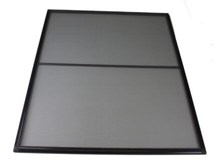 Stopinsect moustiquaire de fenêtre 100x120 cm brun
