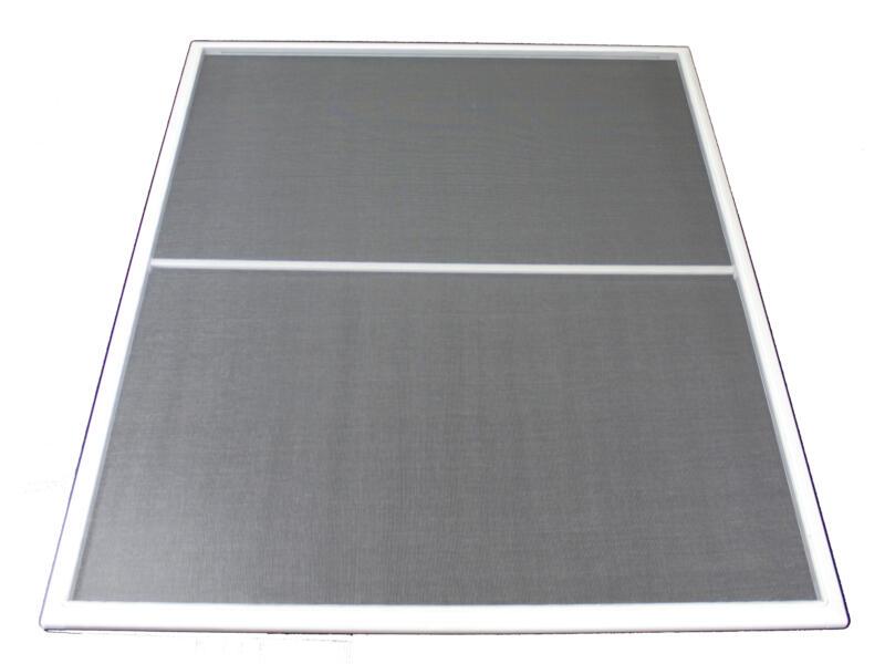 Stopinsect moustiquaire de fenêtre 80x100 cm blanc