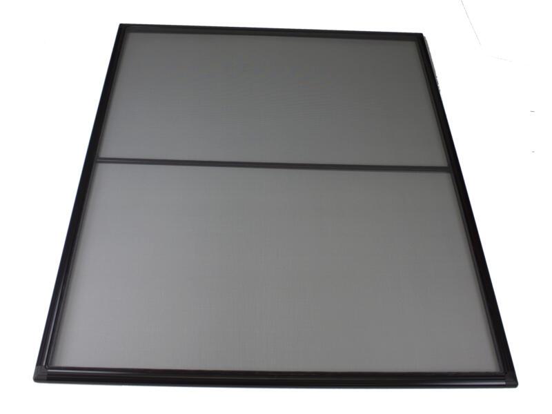 Stopinsect moustiquaire de fenêtre 80x100 cm brun