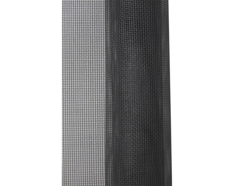 Stopinsect muggengaas 100x125 cm grijs