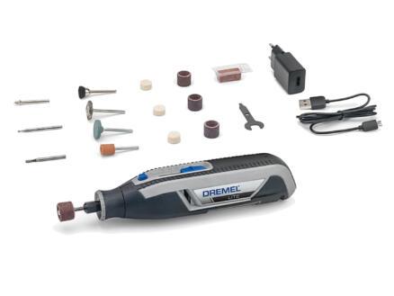 Dremel multigereedschap-systeem 7760JA (Dremel Lite, model 7760-15 + 15 acc. + USB-kabel en adapter + quick start guide + accessoiregids)