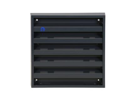 Renson muurrooster 165x165 mm aluminium antraciet