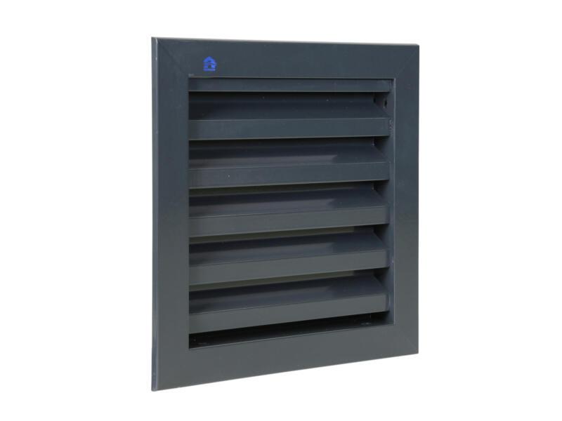 Renson muurrooster 200x200 mm aluminium antraciet-grijs