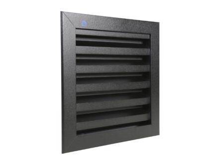 Renson muurrooster 200x200 mm aluminium zwart