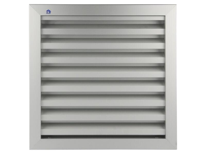 Renson muurrooster 300x300 mm aluminium grijs