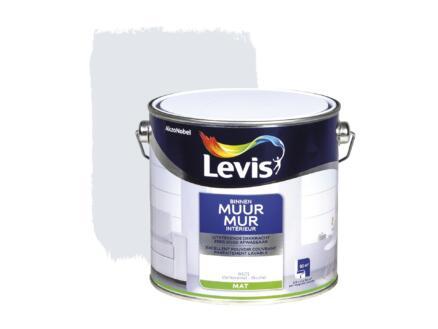 Levis muurverf binnen mat 2,5l ochtendmist