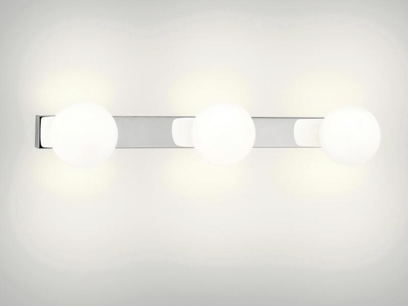 Philips myBathroom Drops wandlamp G9 3x42W chroom