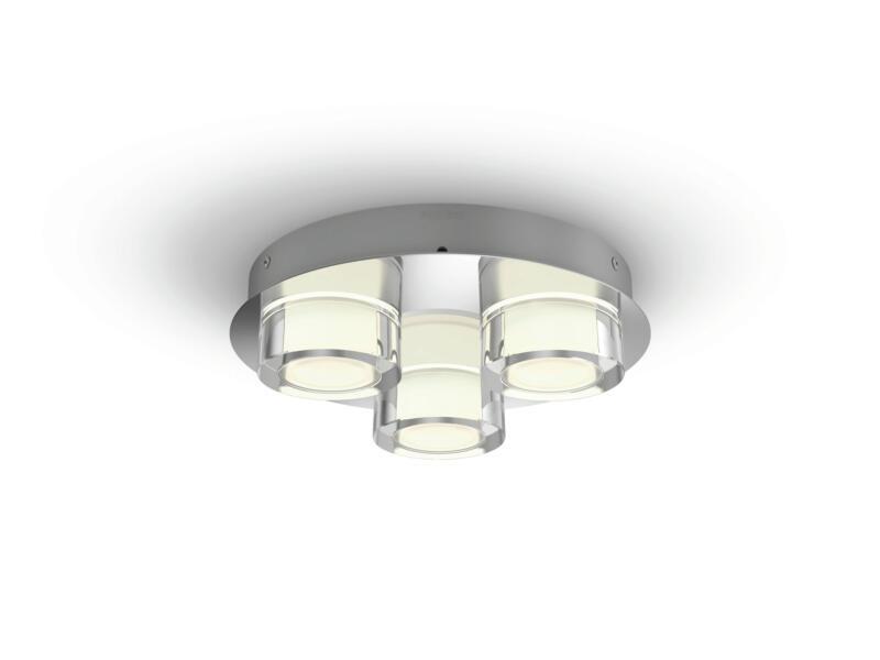Philips myBathroom Resort LED plafondlamp 3x4,5 W chroom