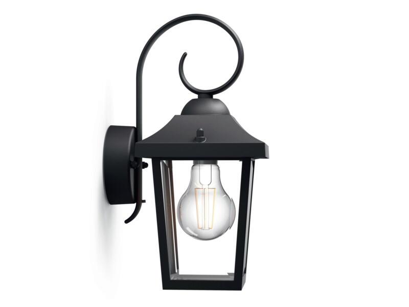 Philips myGarden Buzzard wandlamp E27 max. 60W zwart